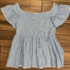 American eagle outfitters babydoll top Xs